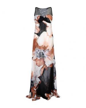 Длинное платье FISICO-CRISTINA FERRARI. Цвет: черный