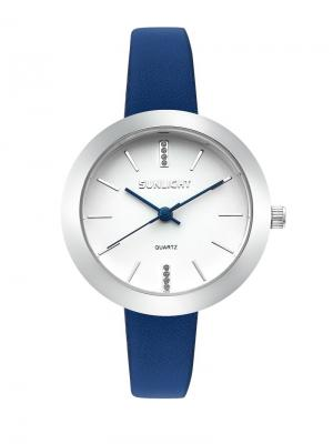 Часы наручные Sunlight. Цвет: синий, серый