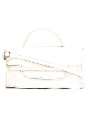 Маленькая сумка Nina Zanellato. Цвет: белый
