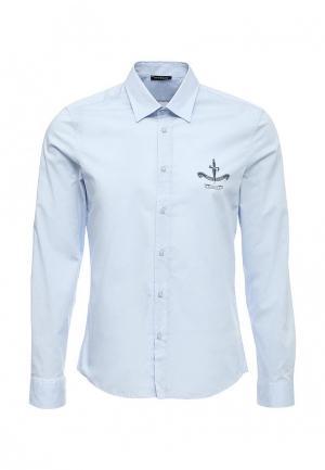Рубашка Cesare Paciotti. Цвет: голубой