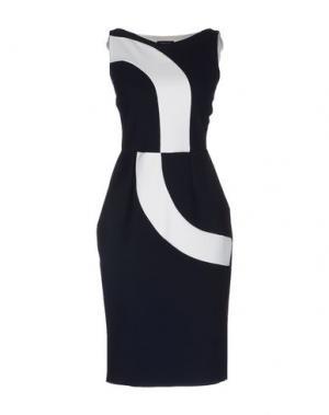 Платье до колена CHIARA BONI LA PETITE ROBE. Цвет: темно-синий