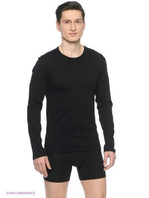 Лонгслив Calvin Klein. Цвет: черный, серый