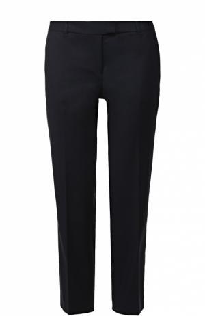 Укороченные брюки прямого кроя со стрелками MICHAEL Kors. Цвет: синий