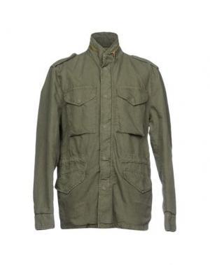 Куртка ORIGINAL VINTAGE STYLE. Цвет: зеленый-милитари
