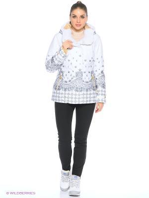 Куртка Stayer. Цвет: белый, светло-серый, золотистый