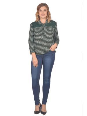 Кофточка Томилочка Мода ТМ. Цвет: зеленый, бежевый