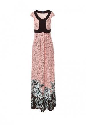 Платье Vay. Цвет: розовый
