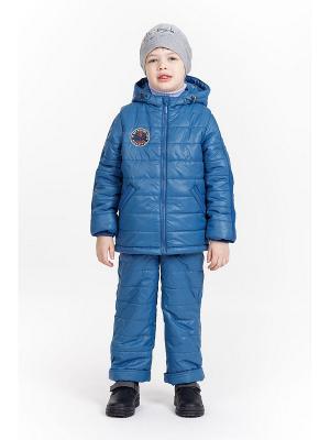 Комплект для мальчика NIKASTYLE. Цвет: серо-голубой