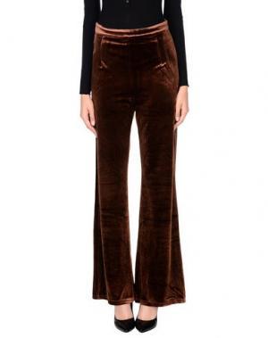 Повседневные брюки WYLDR. Цвет: коричневый
