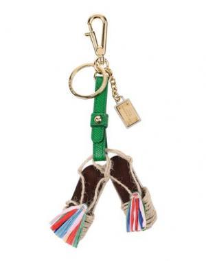 Брелок для ключей DOLCE & GABBANA. Цвет: зеленый