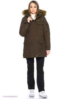 Куртка Tenson. Цвет: коричневый