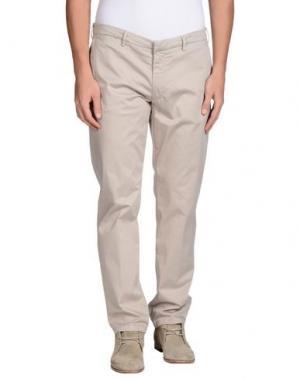 Повседневные брюки GABARDINE. Цвет: светло-серый