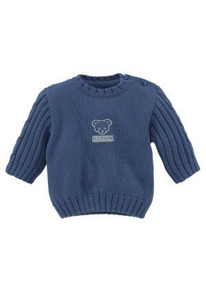 Пуловер KLITZEKLEIN. Цвет: светло-синий