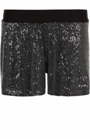 Мини-шорты с пайетками Deha. Цвет: черный