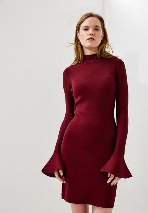 Платье Michael Kors. Цвет: бордовый
