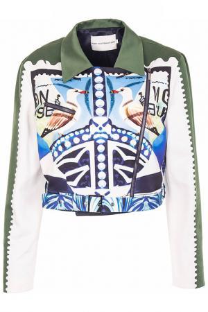 Куртка Mary Katrantzou. Цвет: зеленый