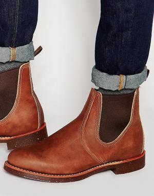 Red Wing Кожаные ботинки челси. Цвет: коричневый
