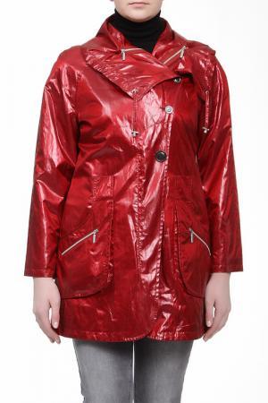 Куртка Loft. Цвет: красный