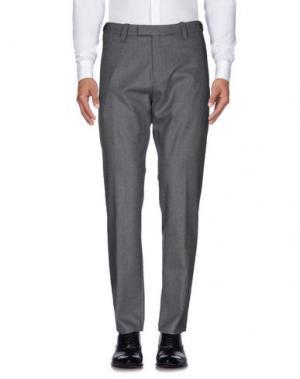 Повседневные брюки COVERT. Цвет: серый