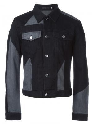 Джинсовая куртка с панельным дизайном Blk Dnm. Цвет: чёрный