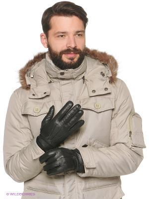 Перчатки Karma. Цвет: коричневый