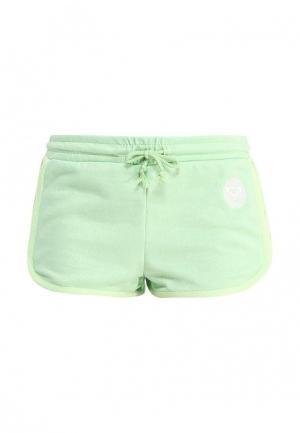 Шорты спортивные Roxy. Цвет: зеленый