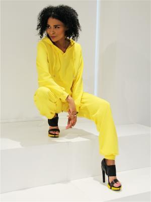 Спортивный костюм Seven Devils. Цвет: светло-желтый, желтый