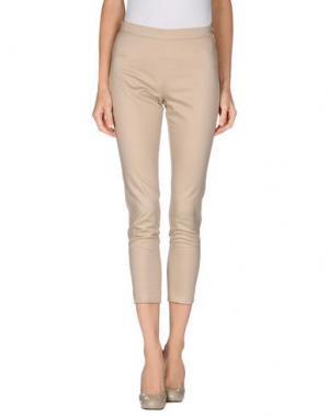 Повседневные брюки TROU AUX BICHES. Цвет: голубиный серый