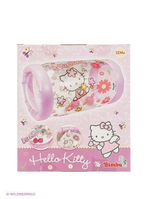 Надувной ролл Hello Kitty, с 2-я шариками внутри Simba. Цвет: розовый