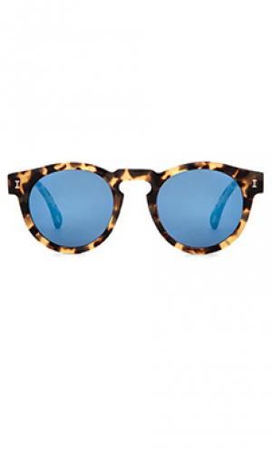 Солнцезащитные очки leonard illesteva. Цвет: беж