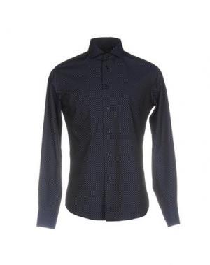 Pубашка ZANETTI. Цвет: темно-синий