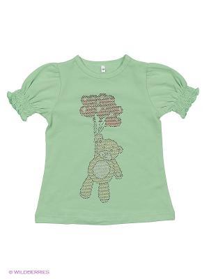 Блузка Милашка Сьюзи. Цвет: зеленый