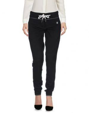 Повседневные брюки AERONAUTICA MILITARE. Цвет: черный