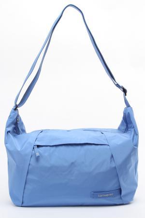 Сумка Samsonite. Цвет: голубой