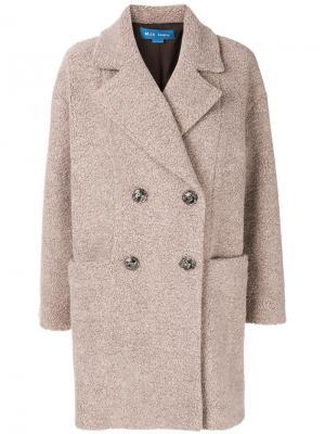 Пальто Ormsby Mih Jeans. Цвет: телесный