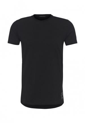 Футболка Sisley. Цвет: черный