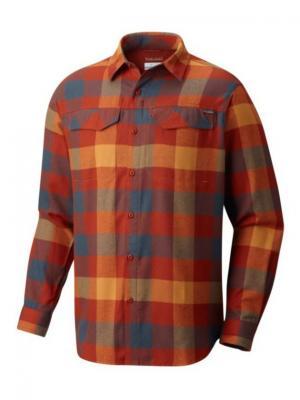 Рубашка Columbia. Цвет: терракотовый, рыжий