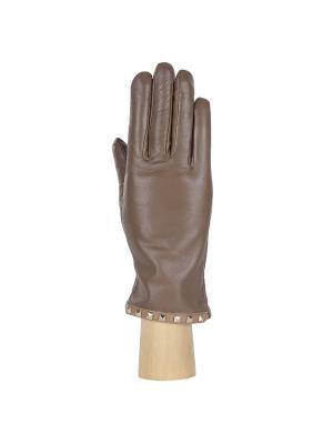 Перчатки Fabretti. Цвет: коричневый, бежевый