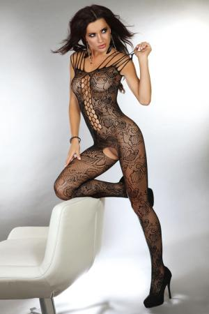 Боди-комбинезон Nikandra Livia Corsetti. Цвет: черный