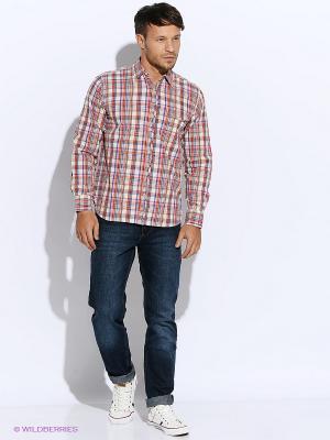 Рубашка Mavango. Цвет: оранжевый