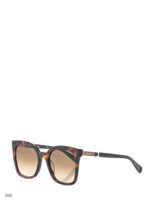 Солнцезащитные очки MAXMARA. Цвет: темно-коричневый