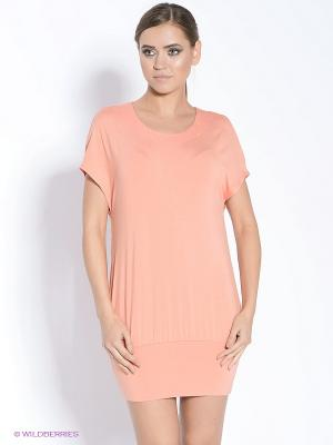 Платье-туника DOCTOR E. Цвет: персиковый