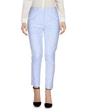 Повседневные брюки AIMO RICHLY. Цвет: небесно-голубой