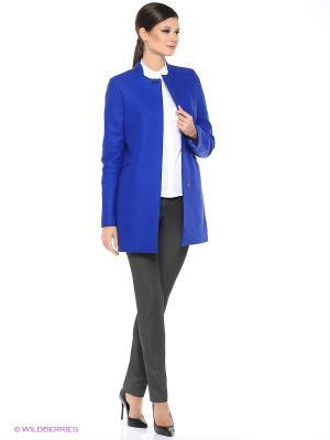 Пальто EURYDIKE. Цвет: синий