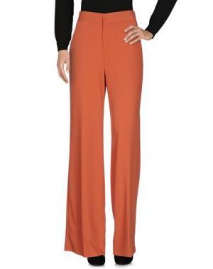 Повседневные брюки HOPPER. Цвет: ржаво-коричневый