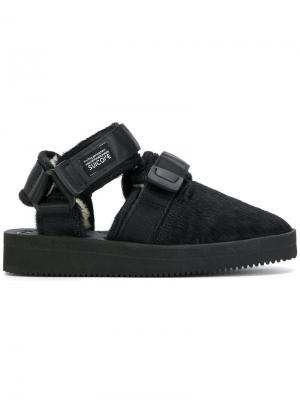 Closed toe sandals Suicoke. Цвет: чёрный