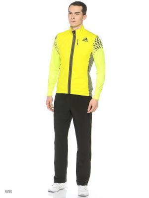 Жилет Xperior Soft Shell Vest Adidas. Цвет: желтый