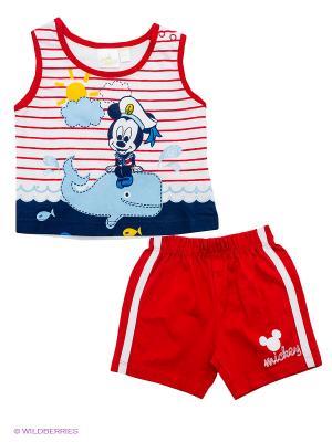Комплект Disney. Цвет: красный, белый, голубой