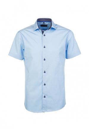 Рубашка Greg. Цвет: голубой