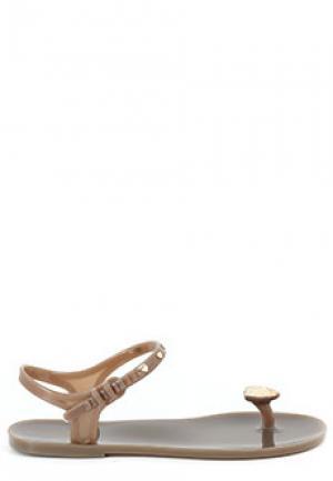 Сандалии MENGHI SHOES. Цвет: коричневый